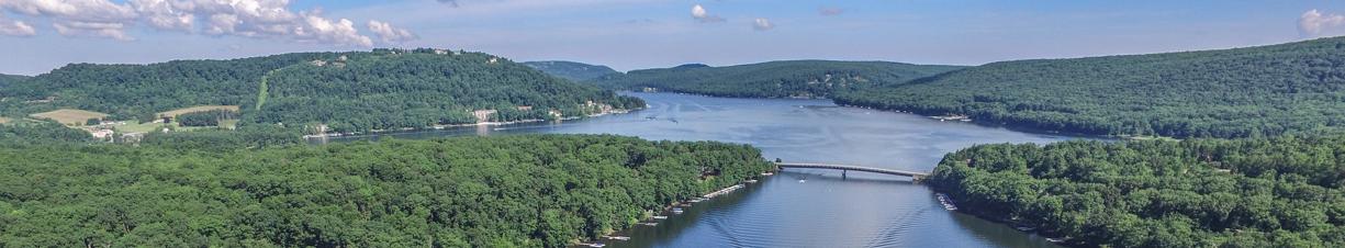 Summer Drone Of Deep Creek Lake Area