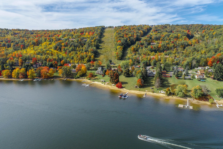 Fall Drone of Deep Creek Lake