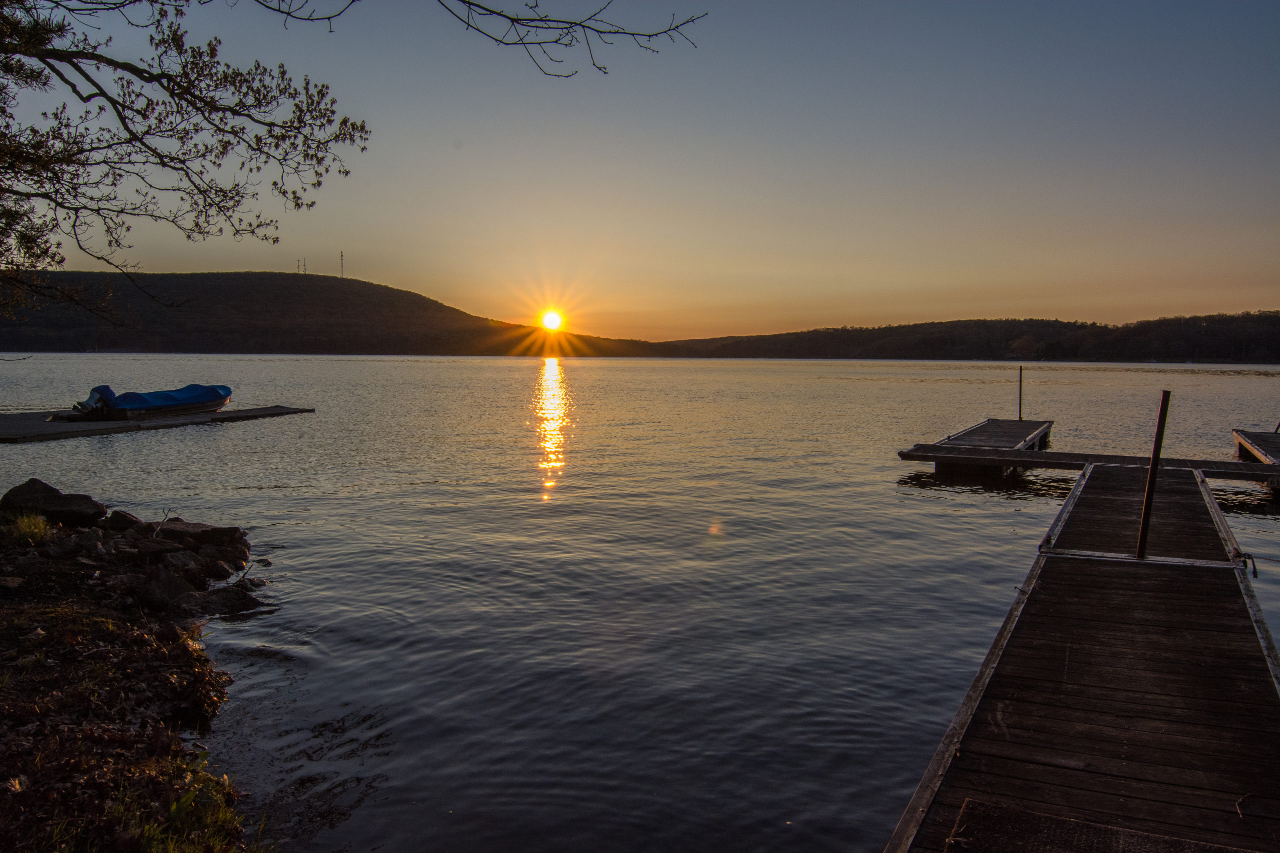 Sunrise on Deep Creek Lake