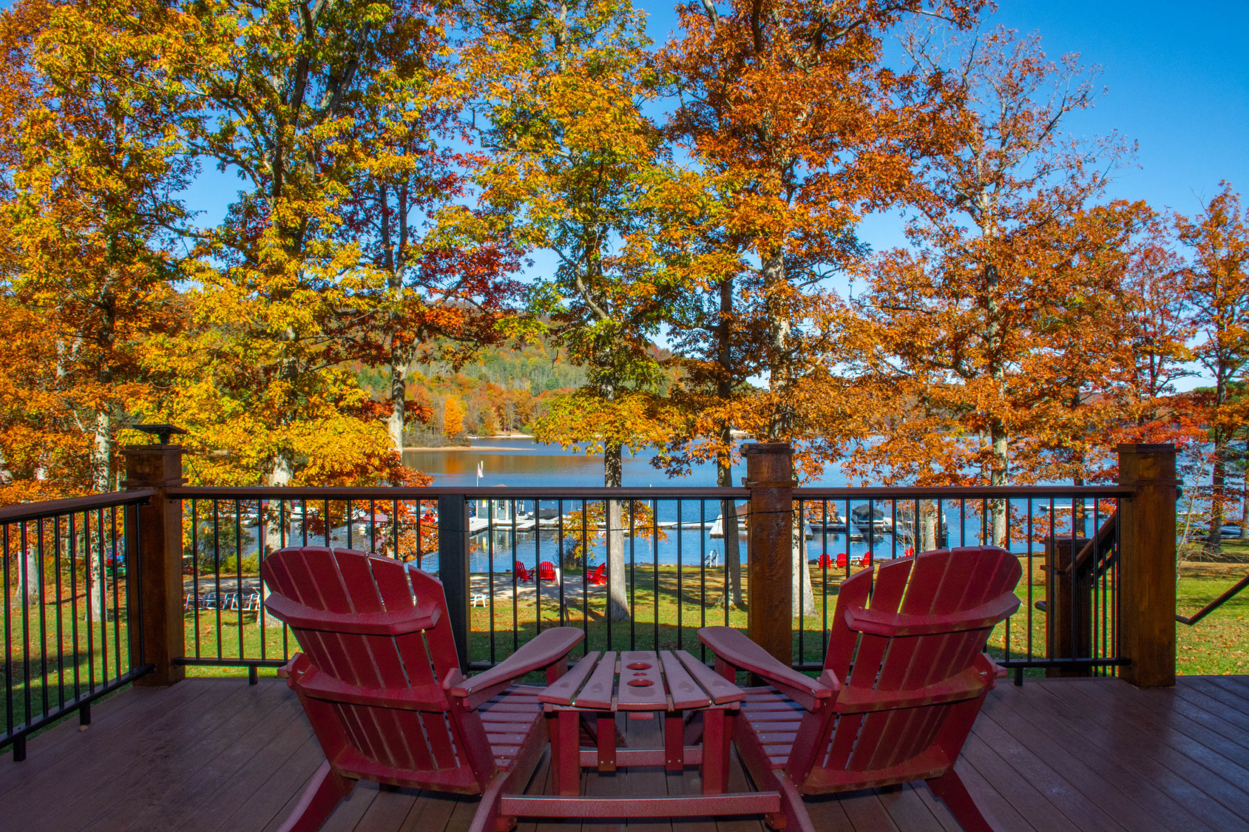 Fall at Deep Creek Lake