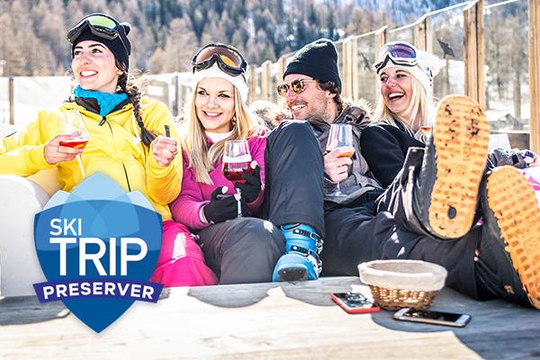 Red Sky Ski Trip Preserver Travel Insurance