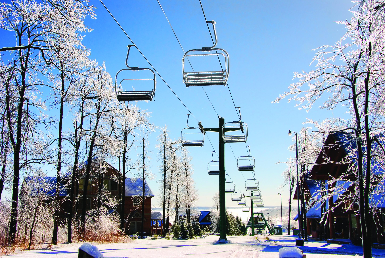 Wisp Ski Lifts in Deep Creek
