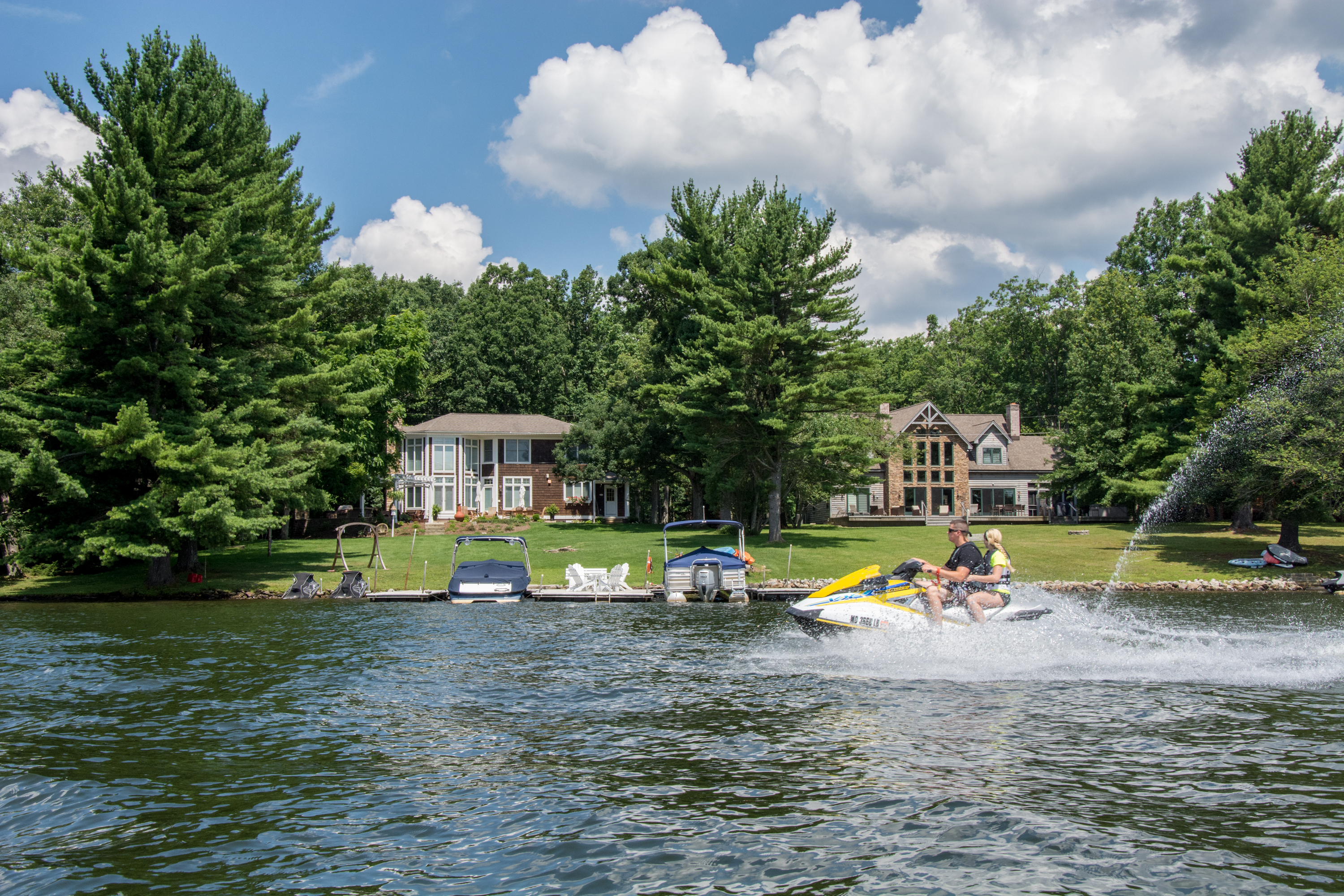 Jet Ski on Deep Creek Lake