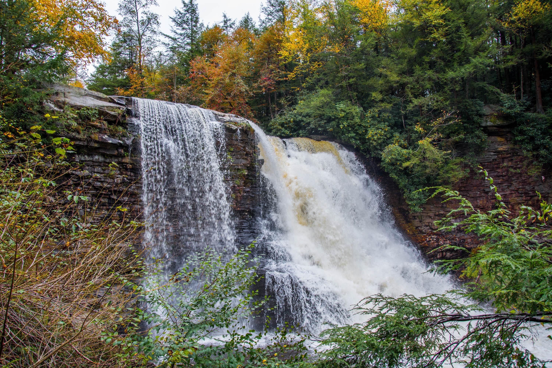 Waterfall near Deep Creek Lake