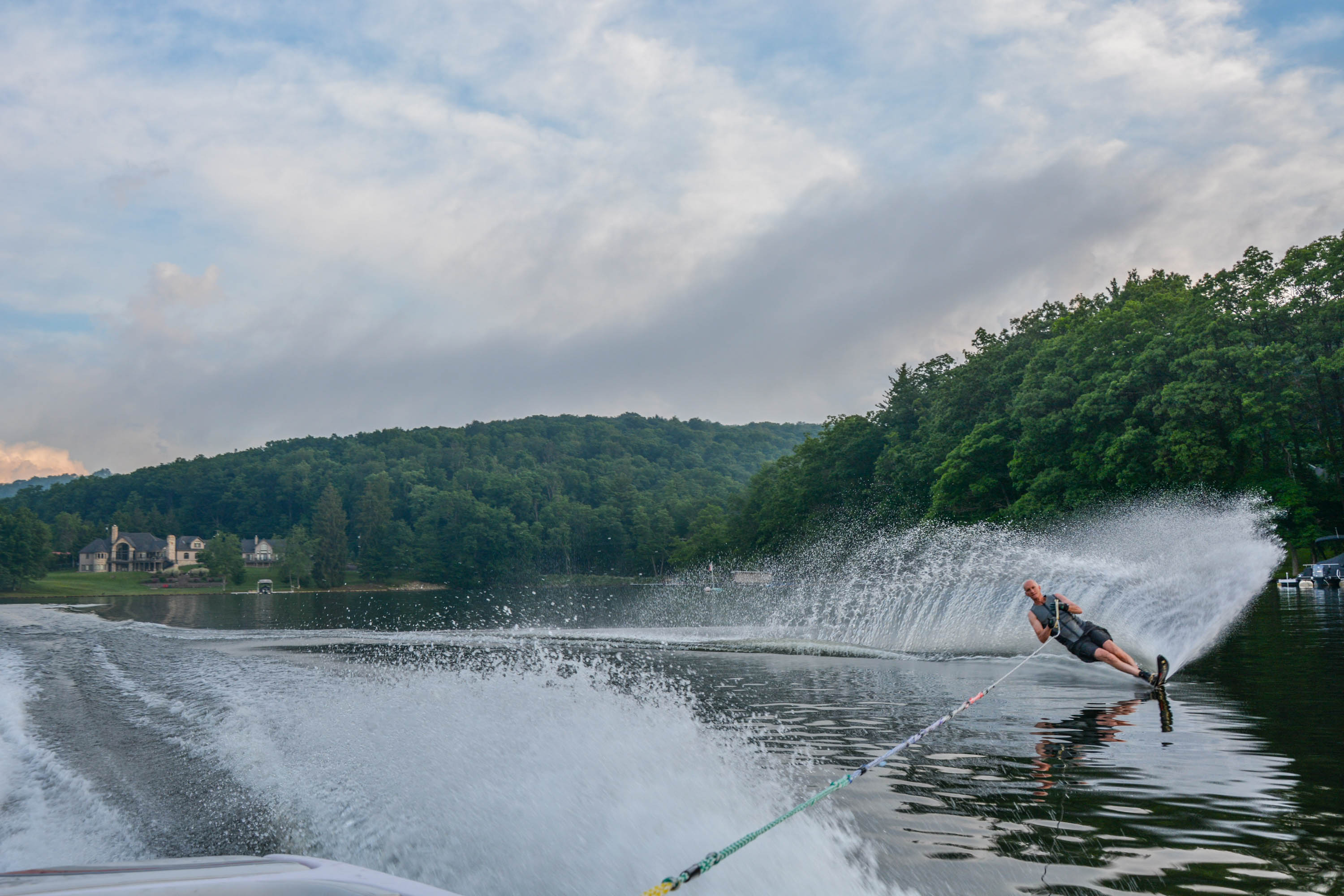 Water-Skiing on Deep Creek Lake