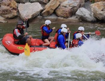 Whitewater Rafting at Deep Creek Lake