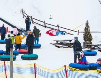 Snow Tubing at Wisp Resort Deep Creek Lake