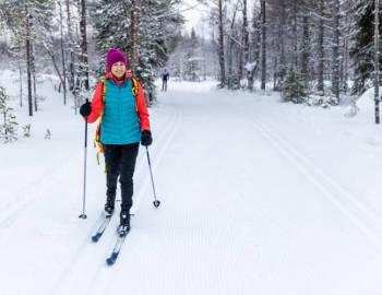 Cross Country Skiing Deep Creek Lake