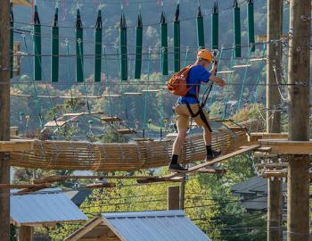Ropes Course at Deep Creek Lake