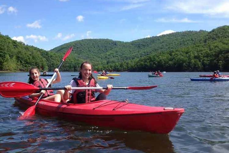 Kayaking with All Earth Eco Tours