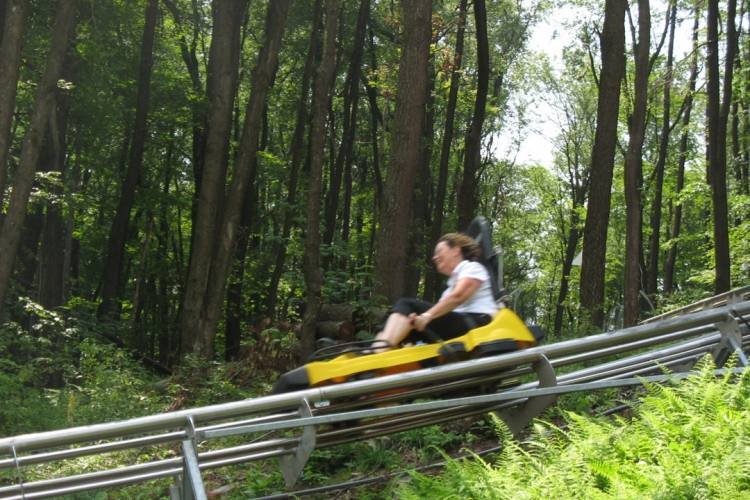 Mountain Coaster Wisp Resort Deep Creek Lake