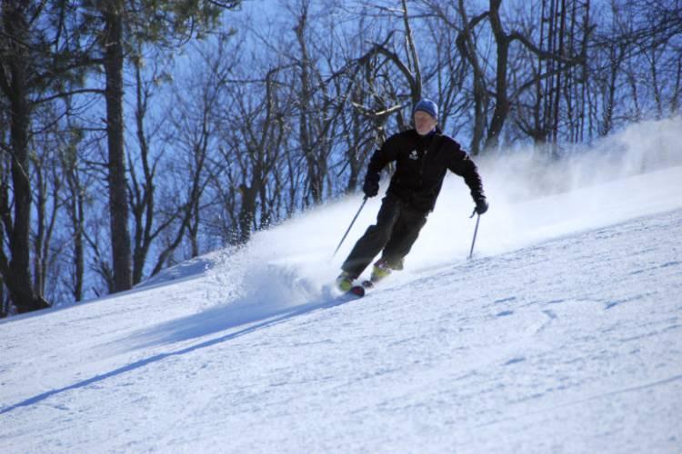 Skiing at Deep Creek Lake