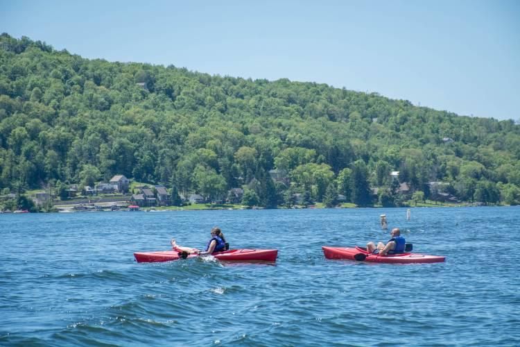 Kayaking at Deep Creek Lake State Park