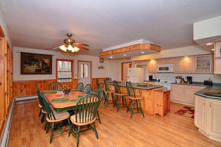 Kitchen at Fairway Breeze Deep Creek Lake