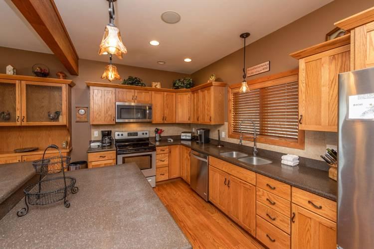 Kitchen at Big Sky at Deep Creek Lake