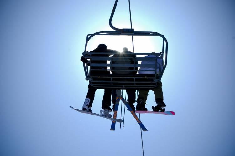 Chairlift at Wisp Resort Deep Creek Lake