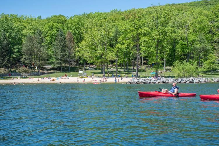 Kayaking Deep Creek Lake