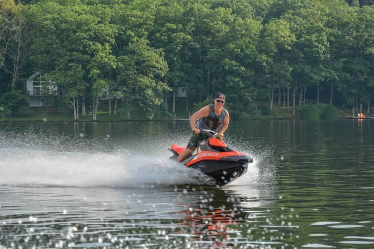 Jet Ski on Deep Creek Lake
