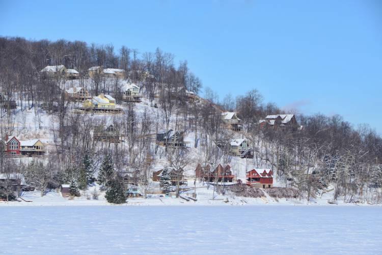Deep Creek Lake in Winter