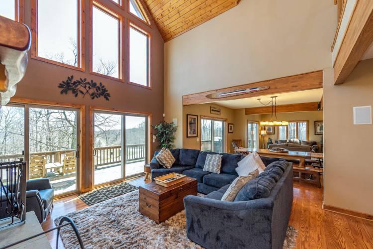 Living Area at Big Sky at Deep Creek Lake