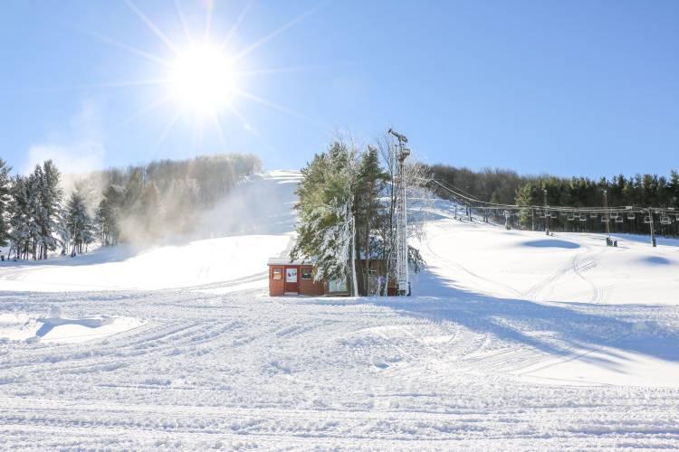 Fresh Snow at Wisp Resort