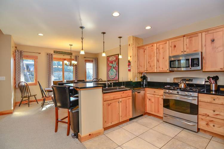 Kitchen of Top of the Slopes Deep Creek Lake
