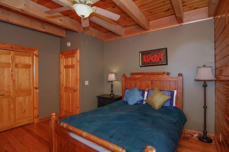 Bedroom at Raccoon Lagoon Deep Creek Lake