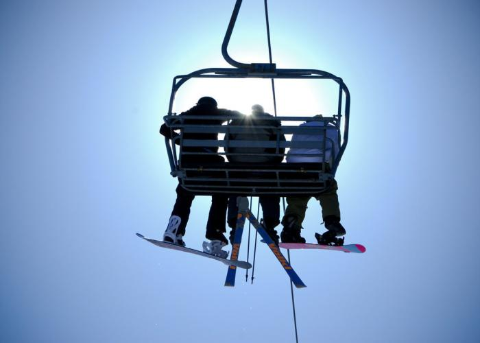 Chairlift at Wisp Resort Deep Creek Lake