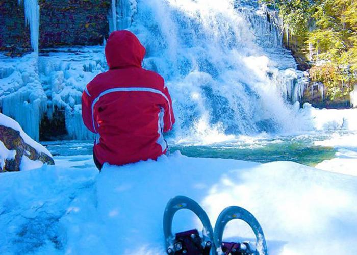 Snowshoe at Deep Creek Lake